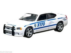 2010 Dodge Charger Police Interceptor NYPD Greenlight Hot Pursuit 1:64 scale R12