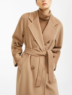 A Complete Guide to Choosing The Perfect Coat That Complements Your Taste This Season - Best Fashion Tips Tweed Coat, Wool Coat, Max Mara Coat, Camel Coat Outfit, Stylish Coat, Belted Coat, Madame, Mode Style, High Fashion