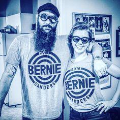 Hey! you know who these cool people are wearing Bernie sanders shirts by PrintLiberation.com? Cuz we have no idea! #berniesanders #berniesanders2016 #weekendatbernies #berniesandersforpresident2016 #berniesanders2k16 #womenforberniesanders #sanders #raiseyourvoice #printliberation #politicalscience #political #newpolitics #hillaryclinton #berniesanderstshirts #vote4berniesanders #brooklyn4bernie