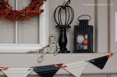 Halloween Moulding Bunting - Landee See Landee Do