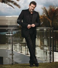 Ocean Drive Magazine Scan April 2012 Issue