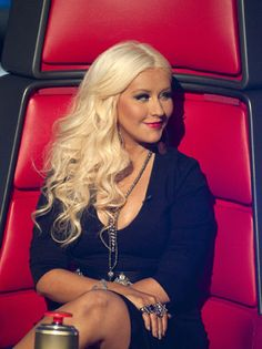 THE VOICE tv show. Christina Aguilera, one of the judges for The Voice The Voice Tv Show, The Voice Nbc, Christina Aguilera The Voice, Fall Tv, Tv Seasons, Kelly Clarkson, Pop Songs, Hollywood Stars, American Singers