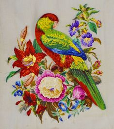 Embroidery Patterns Free, Cross Stitch Patterns, Glass Painting Patterns, Cross Stitch Bird, Quilted Wall Hangings, Christmas Cross, Needlepoint, Needlework, Diy And Crafts