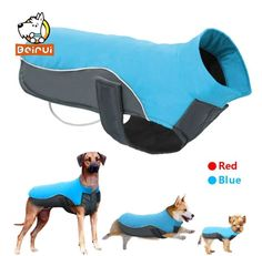 Waterproof Dog Vest Jacket Warm Reflective Pet Clothes Winter Puppy Coat Sweater For Small Medium Large Dogs Chihuahua Pitbull Pet Puppy, Pet Dogs, Dogs And Puppies, Pets, Dog Vest, Dog Jacket, Le Plus Grand Chien, Dog Winter Coat, Winter Coats