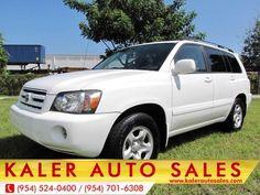 2007 Toyota Highlander $9,488