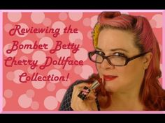 Cherry Dollface Bomber Betty Collection Review-Retro Ramblings