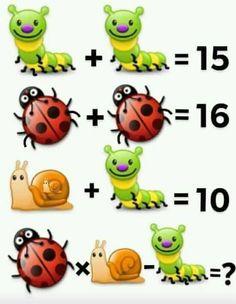Math Puzzles Brain Teasers, Math Quizzes, Kindergarten Math Worksheets, Maths Puzzles, Mind Games Puzzles, Funny Puzzles, Math Games, Class Dojo, Tricky Riddles