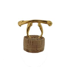 The Magpie Bone Ring Gold Vermeil