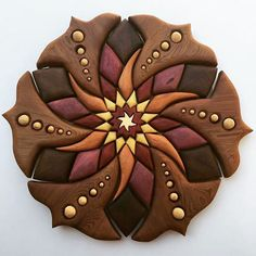 'Flower Royalty' Stoked & honoured to see it go to my one of my favourite electronic artists Kaminanda ! Intarsia Woodworking, Woodworking Patterns, Fine Woodworking, Intarsia Wood Patterns, Wooden Flowers, Scroll Saw Patterns, Barn Quilts, Wooden Wall Art, Wood Sculpture