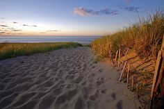 Cape Cod Beach Sunset Photo by Chris Seufert, via Flickr