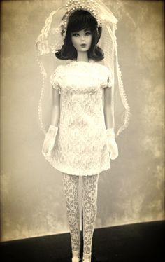 Mod Barbie Bride