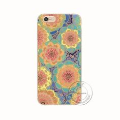 """New Fashion Arrival 21 Styles Flowers Painted Plastic Hard Back Case Cover For Apple iPhone 6 6S 4.7"""""""