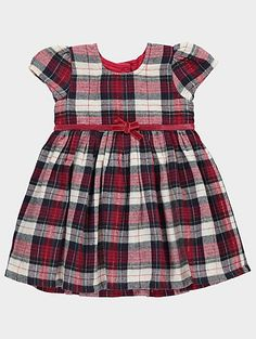 In a gorgeous print with autumnal hues, your little one will fall head over heels for this gorgeous dress. Perfect for layering with tights and a cardigan, i...