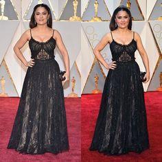 #Actress #SalmaHayek #AcademyAwards #AcademyAwards2017 #Oscars #Oscars2017 #February #2017 #DolbyTheatre #LosAngeles #California #celebsontheredcarpet