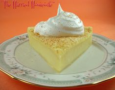 Looking for easy Thanksgiving desserts? Then make this recipe for Easy Custard Pie. Preparing Thanksgiving recipes couldn't be better. Enjoy!