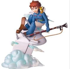 Ghibli Miyazaki Hayao Nausicaä of the Valley of the Wind Action Figure In Box