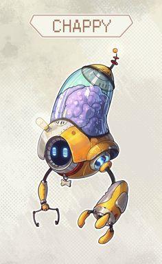 1. Робот - помощник главного героя   407 фотографий