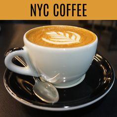 Nyc Coffee, Coffee Shop, Pick Me Up, York, City, Tableware, Coffee Shops, Coffeehouse, Dinnerware