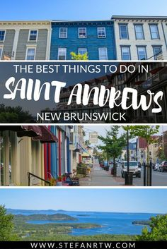 Looking for things to do in Saint Andrews, NB during your trip? This SUPER in-depth guide covers just about everything you need to know! East Coast Travel, East Coast Road Trip, Cool Places To Visit, Great Places, Places To Go, New Travel, Canada Travel, Canada Tourism, Travel Tips