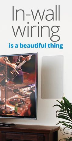 In-wall wiring guide: Installing speaker, audio/video, and Ethernet cable