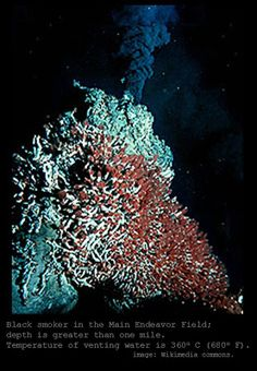 The Mathisen Corollary: Black smokers and deep-sea hydrothermal vents