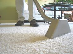 DIY carpet cleaning solution for machines. I go through the store stuff like crazy, this would save so much $$$!