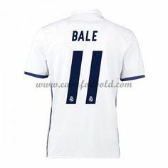 Fodboldtrøjer La Liga Real Madrid 2016-17 Bale 11 Hjemmetrøje