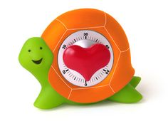 Loving this cute turtle timer =) Turtle Rock, Tiny Turtle, Turtle Time, Egg Timer, Tortoise Turtle, Kitchen Timers, Cute Kitchen, Tortoises, Cool Items