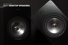 Bump the bass -- and finish that report Front Row Seat: 10 Best Desktop Speakers By ALEJANDRO BRACETTI