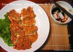 How to make Korean tuna pancakes (Chamchi-Jeon) - Easy to make and popular among kids
