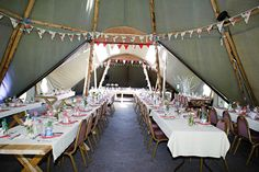 A Homemade Tipi Wedding in Wales: Nathan & Laura