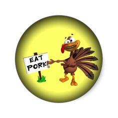 Eat pork