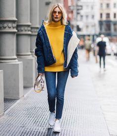 Теплый ноябрь: 15 стильных образов на каждый день - cosmo.com.ua