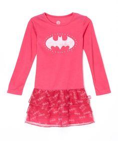 Look at this #zulilyfind! Pink Batgirl Nightgown - Toddler & Girls by Batgirl #zulilyfinds