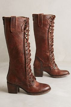 Freebird by Steven Grany Boots. Have always loved the old vintage boot look. #anthropologie
