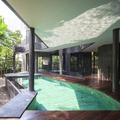 Divergence House With Captivating Views and Natural Surroundings, Bangkok, Thailand