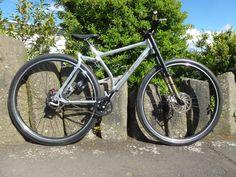 36 zoll bike. Weltweit erstes 36 Zoll Fully Mountainbike mit Riemenantrieb