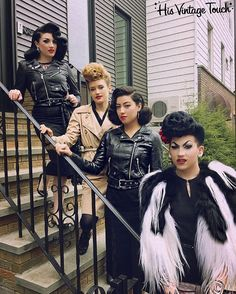 "2,905 Likes, 51 Comments - Tony Medina- Hairstylist (@hisvintagetouch) on Instagram: ""When the His Vintage Touch class meets the Bad Girls Club. @StephiefifthGear @ArtistMNyc…"""