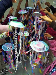 Art with Ms. Gram: Art Club Jellyfish