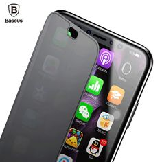 Slim Flip Case For iPhone X  Full Screen Protector Window Cover Shells