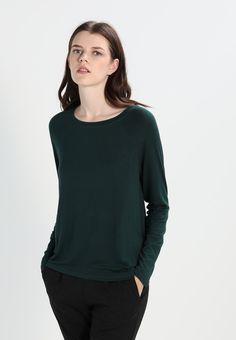 0e8044577ceb NMHARRY - Langærmede T-shirts - green gables   Zalando.dk 🛒