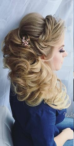 Long Wedding Hairstyles from Nadi Gerber | Deer Pearl Flowers