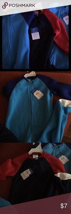 Toddler Sleepers 3 toddler boy sleepers. 2 brand new with tags, 1 brand new without tags. Lightweight, warm, and soft sleeper for your little cuddle bug!!! cambridge baby Pajamas