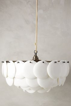 Anthro china chandelier