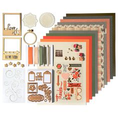 Fall Harvest Card Kit - Spellbinders Card Kit of the Month Club