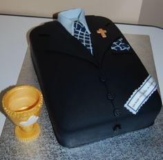 Suit & Tie Confirmation Cake