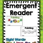 What a great emergent reader to include in your color unit! This is a fun and cute emergent reader that the little ones will enjoy and love to read...