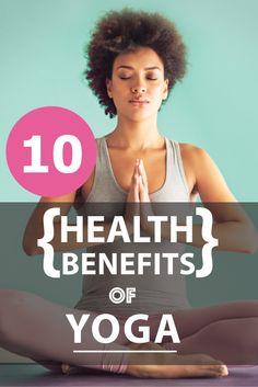 Ten health benefits of practicing yoga regularly!