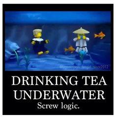 well spongebob had a fire under water soo...