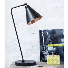 Game Bordslampa, Svart/Koppar - House Doctor - House Doctor - RoyalDesign.se